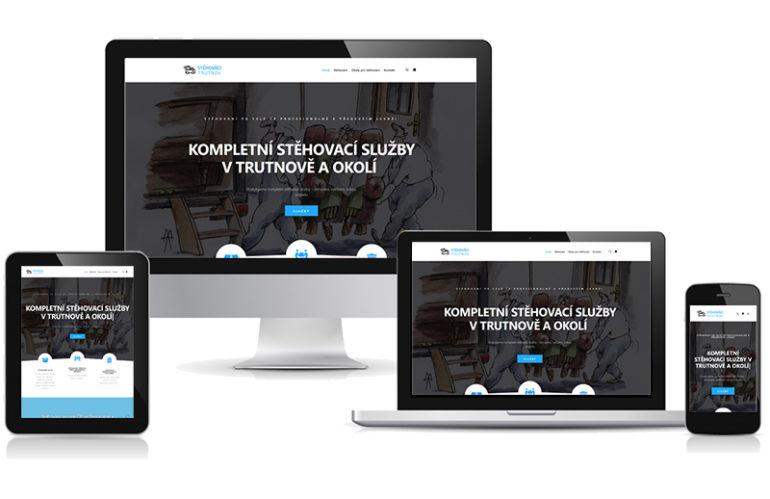 webové stránky stěhováci Trutnov